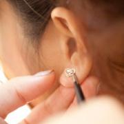 耳つぼジュエリー1ペア+さとう式リンパケア(お試し体験)