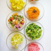 ブーチョの野菜ビュッフェ